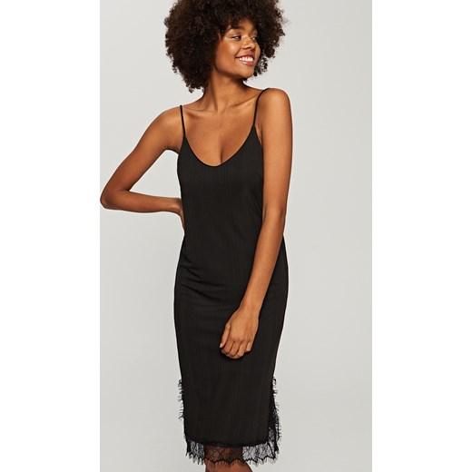 7645063c4c Reserved - Sukienka na ramiączkach - Czarny Reserved czarny XS
