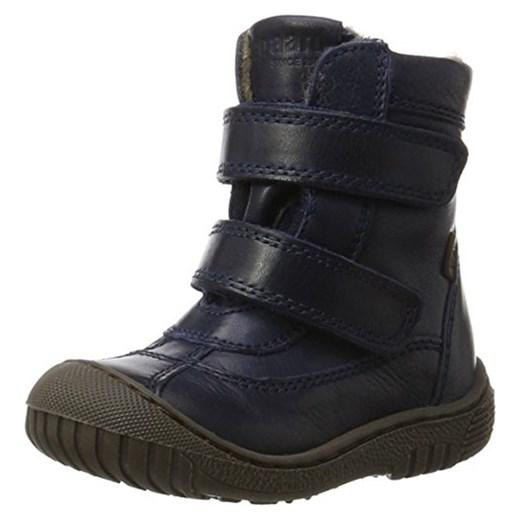 d6543415 bisgaard uniseks – dzieci trzewiki zimowe buty na rzepy - niebieski - 29 EU  Bisgaard sprawdź