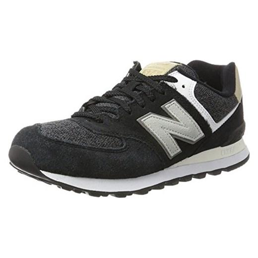 size 40 319d2 17bf4 New Balance 574 Sneaker męskie, kolor: czarny (czarny) szary Amazon