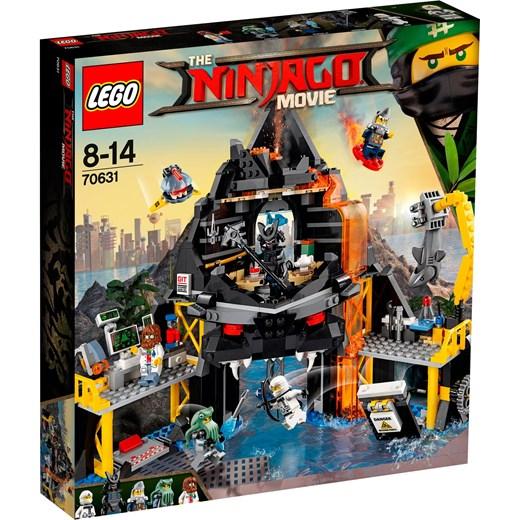 Klocki Lego Ninjago Movie Wulkaniczna Kryjówka Garmadona 70631 Szary