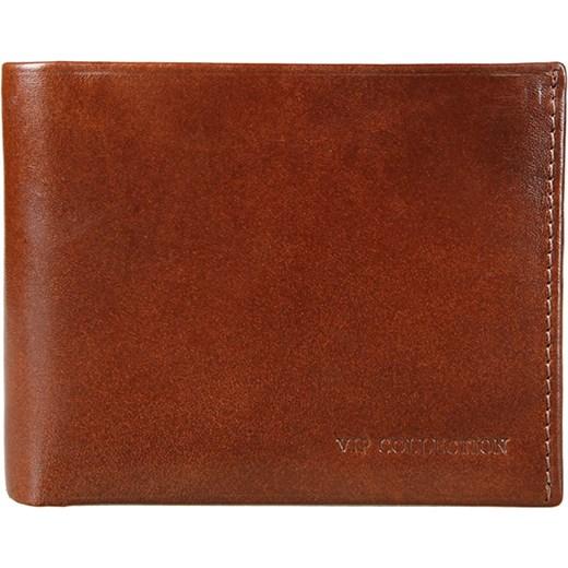 d2842c755fb7e ... Portfel męski VIP Collection MILANO 2 06 CON koniakowy Vip Collection  czerwony Oficjalny sklep Allegro