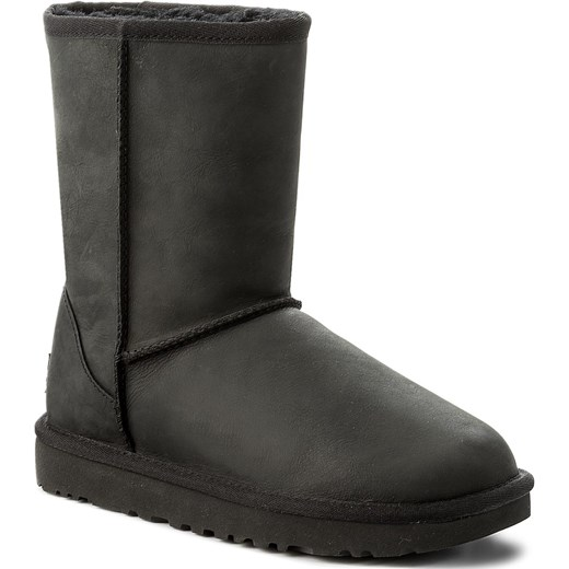 Buty UGG - Classic Short Leather 1016559  W/Blk Ugg  41 eobuwie.pl