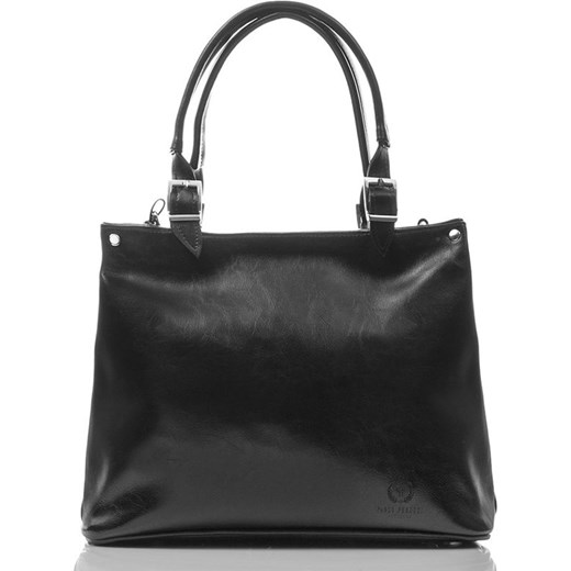 0a99ccb5de391 Włoska Damska skórzana torebka shopper bag LILIANA bialy Paolo Peruzzi One  Size merg.pl ...