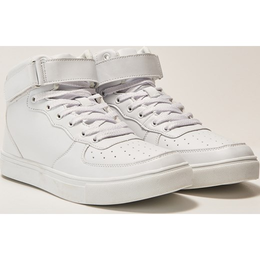 6b51053f House - Sneakersy z zapięciem na kostce - Biały House szary 37 ...