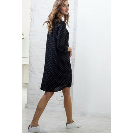 fd7aca1658 Sukienka FLAVIA czarny Afunguard afunguard.com w Domodi