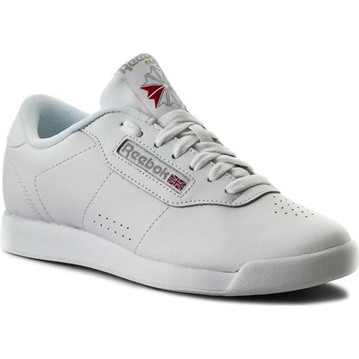 39d0d053 Sneakersy Reebok - Princess CN2212 White szary Reebok 36 eobuwie.pl