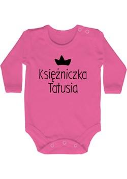 Body niemowlęce KSIĘŻNICZKA TATUSIA] szary Lene lene.pl - kod rabatowy