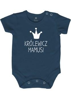 Body niemowlęce  KRÓLEWICZ MAMUSI Lene szary lene.pl - kod rabatowy