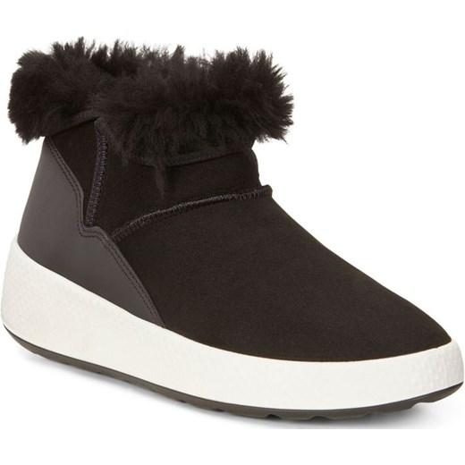 24db47da Damskie śniegowce Ukiuk (czarne buty) Ecco czarny BestSport w Domodi
