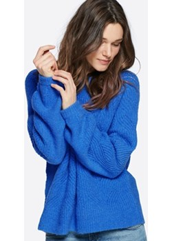 Ivy sweter z dzianiny niebieski Cubus okazja   - kod rabatowy