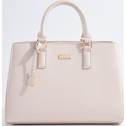 f7e02fee1ae2c Mohito - Gustowna torebka z odpinanym paskiem - Różowy szary Mohito One  Size ...