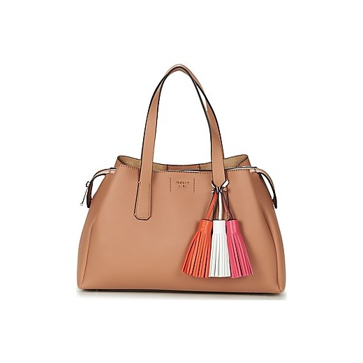 7f5fff8706537 Guess Torebki do ręki TRUDY GIRLFRIEND SATCHEL Guess brazowy Guess One Size  Spartoo