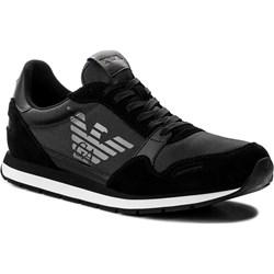 f9cdd49df4c17 Czarne buty sportowe męskie emporio armani, lato 2019 w Domodi