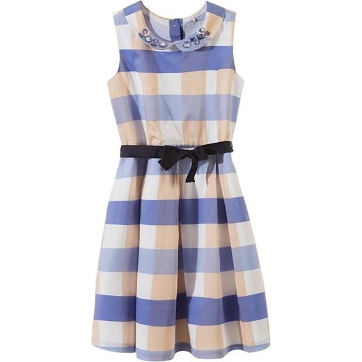fe6362c780 Sukienka dziewczęca 3K3209 niebieski 5.10.15. w Domodi