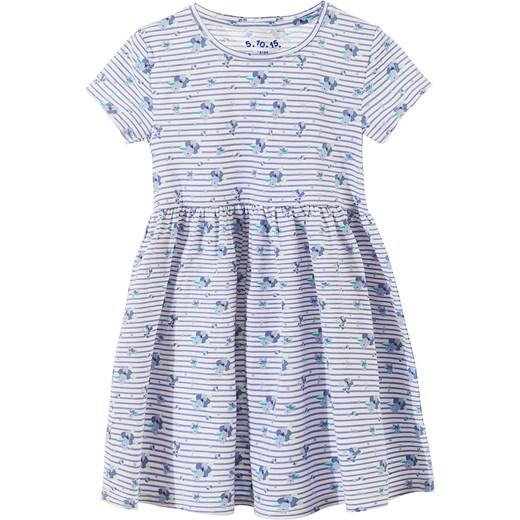 13dc705e6d Sukienka dziewczęca 3K3217 5.10.15. niebieski w Domodi