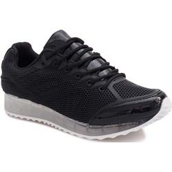 ca051b04 Czarne buty sportowe na grubej podeszwie Hailey - Obuwie ...