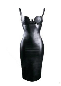 Sukienka wieczorowa Felix czarny Kelly  - kod rabatowy