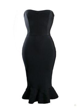 Sukienka wieczorowa Frances Kelly czarny  - kod rabatowy