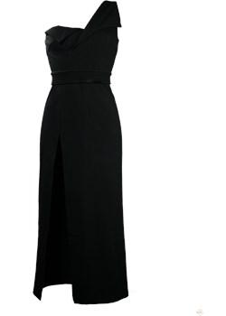 Sukienka wieczorowa Dione czarny Kelly  - kod rabatowy