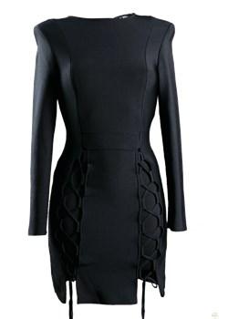 Sukienka wieczorowa Queen czarny Kelly  - kod rabatowy