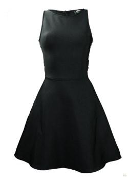 Sukienka wieczorowa  Liz Kelly czarny  - kod rabatowy