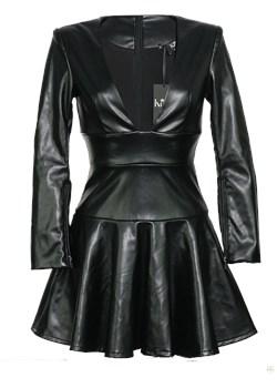 Sukienka wieczorowa  Gillian Kelly czarny  - kod rabatowy