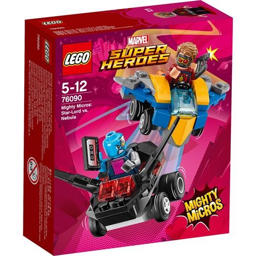 Klocki Lego Marvel Super Heroes Star Lord Vs Nebula 76090 Czerwony
