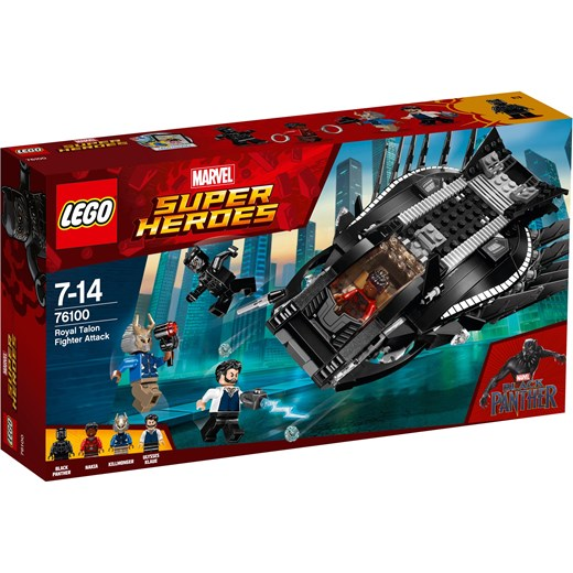 Klocki Lego Marvel Super Heroes Atak Myśliwca Royal Talon Fighter