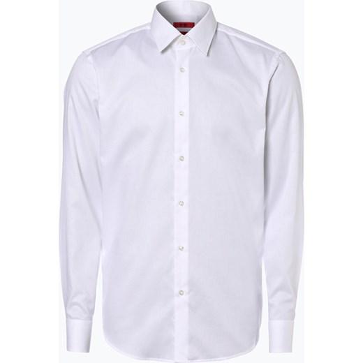 4516cc49790a1 HUGO - Koszula męska łatwa w prasowaniu – C-Enzo, czarny fioletowy Hugo 40