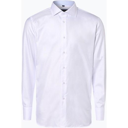 d05f6f77419d0 Van Graaf - Męska koszula z poszetką, czarny Van Graaf fioletowy 43 vangraaf