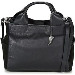 aca8240409d9a Czarne torby na zakupy shopper bag terranova