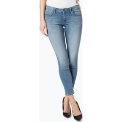 64a8e67ee3c46d Niebieskie jeansy damskie lee, lato 2019 w Domodi