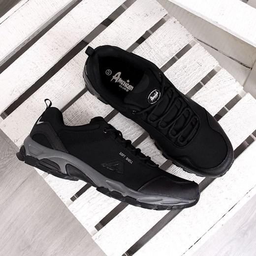 88e7f0770f382 ... Wodoodporne trekkingowe buty męskie duże rozmiary American Club  American Club 48 okazyjna cena ButyRaj.pl