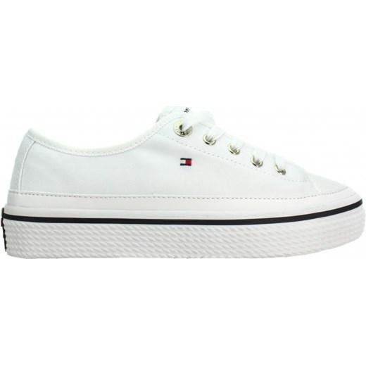 2afce643340b9 ... Tenisówki Corporate Flatform Sneaker FW0FW02456 White 100 szary Tommy  Hilfiger 37 Ego ...