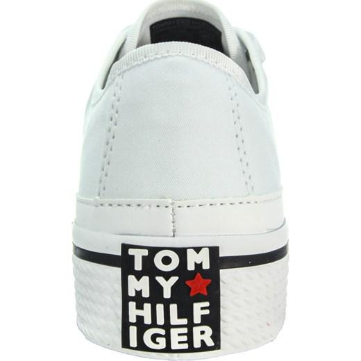7329581c7b618 ... Tenisówki Corporate Flatform Sneaker FW0FW02456 White 100 Tommy Hilfiger  szary 38 Ego ...