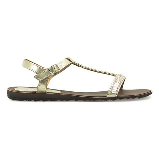 61f77028b4c4e ... Sandały Venezia 2453 LAM PLAT Złote bialy Venezia okazyjna cena  Arturo-obuwie ...