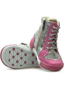 Kornecki Trzewiki dziecięce 05233 Różowe Kornecki  wyprzedaż Arturo-obuwie  - kod rabatowy