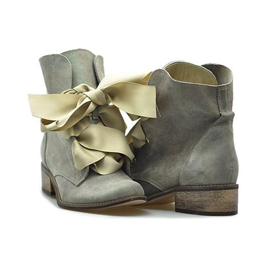 c2962721e0a7 ... brazowy wyprzedaż Arturo-obuwie  Botki Di Lusso 1858 Beż nakładany  zielony Di Lusso okazja Arturo-obuwie ...