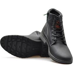 fbd736a2c2374 Czarne buty zimowe męskie arturo-obuwie, lato 2019 w Domodi