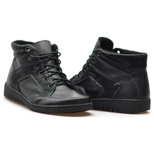 c6e79ebef86b4 Trzewiki damskie Helios 530 Czarne lico Helios czarny Arturo-obuwie ...