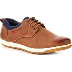 52e2c7538fcbf Brązowe buty new yorker sznurówki, jesień 2018 w Domodi