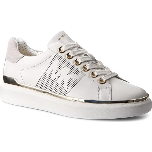 9b2e690bad6eb Sneakersy MICHAEL KORS - Max Lace Up 43T7MAFS4L Opt Plgold Michael Kors  bialy 40 wyprzedaż