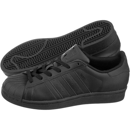 Buty Adidas Superstar Foundation J (AD446 a) butsklep pl czarny naturalne