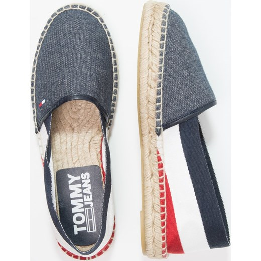 2c51ea00afd0d ... Tommy Jeans CORPORATE FLAT Espadryle dark blue Tommy Jeans 39 Zalando  ...