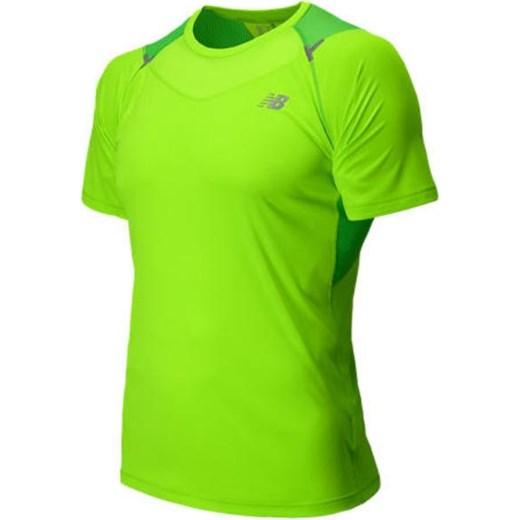 10a6f92e8 ... Męska koszulka do biegania New Balance MRT5118CMG zielony New Balance L  wyprzedaż Cenga.pl
