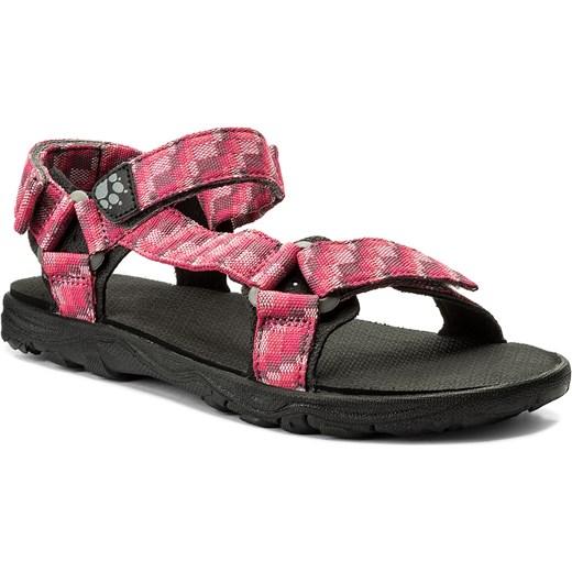 różne style buty jesienne ujęcia stóp Sandały JACK WOLFSKIN - Seven Seas 2 Sandal G 4029961 D Tropic Pink  eobuwie.pl