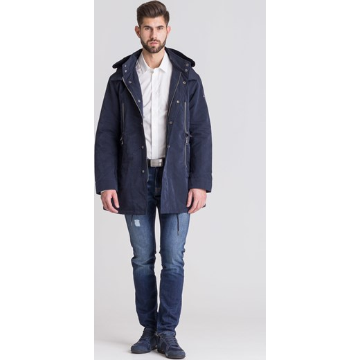 7630c626ec Biała Koszula Męska W Delikatny Wzór Versace Jeans Velpapl W Domodi