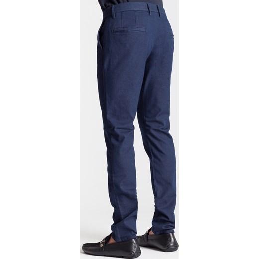 d8321de09420c ... Granatowe chinosy męskie Armani Jeans 52 Velpa.pl ...