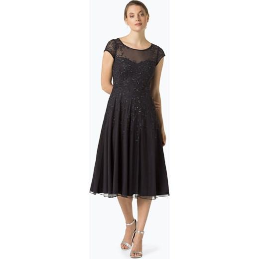 vera mont collection damska sukienka wieczorowa szary. Black Bedroom Furniture Sets. Home Design Ideas