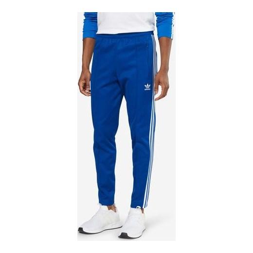 oficjalne zdjęcia informacje o wersji na najnowszy projekt Spodnie 'FRANZ BECKENBAUER TRACKPANTS' niebieski Adidas Originals AboutYou